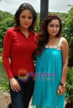Udita Goswami, Trina Patel at Film Chase on location in FilmCity on 13th Aug 2009 (3).JPG