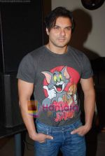Sohail Khan at Daboo Mallik_s bash in Marimba Lounge on 14th Aug 2009 (8).JPG