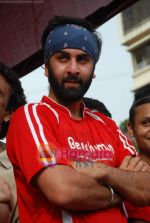 Ranbir Kapoor at Being Human soccer match in Bandra on 15th Aug 2009 (5).JPG