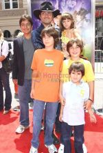 Robert Rodriguez and Family at the Premiere Of SHORTS held at The Grauman_s Chinese Theatre in Hollywood, California, USA on Aug 15th 2009 - IANS-WENN.jpg