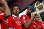 Vatsal Seth, Ranbir Kapoor at Being Human soccer match in Bandra on 15th Aug 2009 (2).JPG