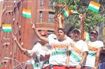 Fans at India Day Parade and Festival in New York on August 16, 2009 in Manhattan, New York (1).jpg