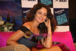 Kangana Ranaut on the sets of Farah Khan_s chat show Tere Mere Beach Mein in Filmcity on 16th Aug 2009 (27).JPG