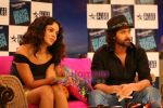 Kangana Ranaut, Hrithik Roshan on the sets of Farah Khan_s chat show Tere Mere Beach Mein in Filmcity on 16th Aug 2009 (2).JPG