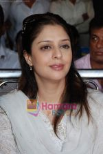 Nagma at cricket match organised by Bablu Aziz in Santacruz on 16th Aug 2009 (10).JPG