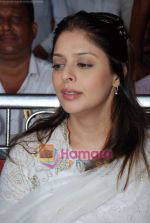Nagma at cricket match organised by Bablu Aziz in Santacruz on 16th Aug 2009 (7).JPG