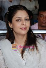 Nagma at cricket match organised by Bablu Aziz in Santacruz on 16th Aug 2009 (9).JPG