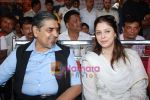 Nagma, Jagdish Tytler at cricket match organised by Bablu Aziz in Santacruz on 16th Aug 2009 (7).JPG