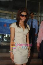 Priyanka Chopra at the launch of Novaltis Radiosuregery scanner for tumors in Ambani Hospital on 16th Aug 2009 (21).JPG