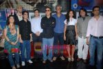 Ayesha Kapur, Parzun Dastur, R Madhavan, Vidhu Vinod Chopra, Sanjay Suri, Sudhir Mishra, Arunoday Singh, Piyush Jha at Sikandar promotional event in PVR on 17th Aug 2009 (56).JPG