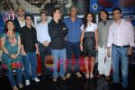 Ayesha Kapur, Parzun Dastur, R Madhavan, Vidhu Vinod Chopra, Sanjay Suri, Sudhir Mishra, Arunoday Singh, Piyush Jha at Sikandar promotional event in PVR on 17th Aug 2009 (7).JPG