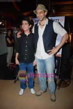 Parzun Dastur, Arunoday Singh at Sikandar promotional event in PVR on 17th Aug 2009 (4).JPG