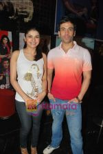 Prachi Desai, Tusshar Kapoor at the Special screening of Life Partner in PVR on 17th Aug 2009 (2).JPG