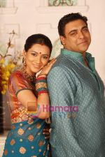 Ram Kapoor & Pallavi Subhash in the Serial Basera on NDTV Imagine (1).JPG