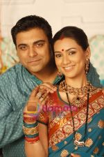 Ram Kapoor & Pallavi Subhash in the Serial Basera on NDTV Imagine (8).JPG