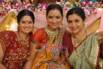 Resham, pallavi & supriya in the Serial Basera on NDTV Imagine.JPG