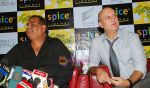 Satish Kaushik, Anupam Kher at the Press Conference and Premiere of film Teree Sang in Spice World, Noida on 6th Aug 2009 (3).JPG