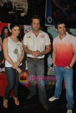Tusshar Kapoor, Prachi Desai, Fardeen Khan at the Special screening of Life Partner in PVR on 17th Aug 2009 (3).JPG