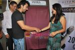 Sophie Chaudhary and Aashish Chaudhary at the launch of Lucera collection at Gitanjali in Infinity Mall on 19th Aug 2009 (9).JPG