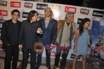 Ayesha Kapoor, Arunoday Singh, Piyush Jha, Sudhir Mishra, Sanjay Suri at Sikandar premiere  in Fun on 20th Aug 2009 (2).JPG