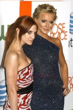 Ashlee Simpson-Wentz and Katie Cassidy at The CW and AT&T_s _Melrose Place_ Launch Party in Los Angeles, California - 22.08.09 - IANS-WENN.jpg