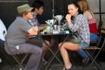 Christina Ricci having lunch with a friend at Joan_s on Third, Los Angeles, California on 26th August 2009 - IANS-WENN (1).jpg