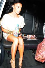 Katie Price, AKA Jordan, leaving her London hotel in London, England on 26th August 2009 - IANS-WENN.jpg