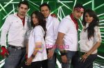 Siddhanth Karnick, Sabina Sheema, Akshay Kapoor, Rehan Khan and Bhavna Pani in the still from movie Fast Forward.JPG