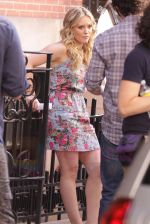 Hilary Duff On The Set Of GOSSIP GIRL in New York City on 26th August 2009 (49).jpg