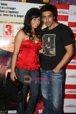 Samita & Aashish Chowdhry at the Private Screening of THREE in Mumbai on 2nd Sep 2009 (2).JPG