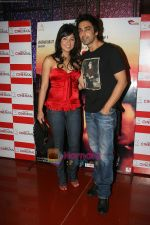Samita & Aashish Chowdhry at the Private Screening of THREE in Mumbai on 2nd Sep 2009.JPG
