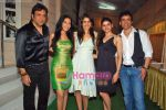 Govinda, Amrita Rao, Genelia D Souza, Prachi Desai, Tusshar Kapoor at Life Partner success bash hosted by Tusshar Kapoor in Tusshar_s House on 5th Sep 2009 (4)~0.JPG