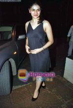 Prachi Desai at Life Partner success bash hosted by Tusshar Kapoor in Tusshar_s House on 5th Sep 2009 (3).JPG