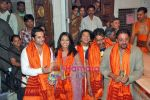 Ajay Devgan, Sanjay Dutt, Mugdha Godse, Bipasha Basu, Fardeen Khan at the Audio Release of All The Best in Siddhivinayak Temple on 6th Sep 2009 (6).jpg