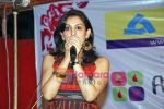Akriti Kakkar at Blood donation drive - Rush of Blood in Carter Road on 6th Sep 2009 (3).JPG