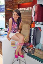 Natasha Bhardwaj promote American Tourister in Khar on 8th Sep 2009 (29).JPG