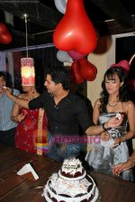 Karan Mehra, Nisha Rawal at Karan Mehra_s bday bash in Marimba Lounge on 10th Sep 2009 (25).JPG