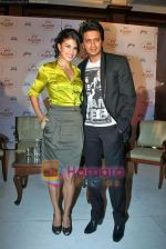 Jacqueline Fernandes, Ritesh Deshmukh at the First look launch of Aladin in Taj Land_s End on 16th Sep 2009 (41)