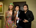 Lara, Ritiesh and Govinda in the still from movie D Knot Disturb -Bebo.jpg