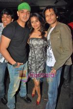 Akshay Kapoor, Rehan Khan, Bhavna Pani at Fast Forward film bash in Vie Lounge on 19th Sep 2009 (62).JPG