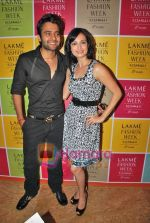 Jacky Bhagnani, Dia Mirza at Vikram Phadnis Bash on LIFW Day 4 on 21st Sep 2009 (2)