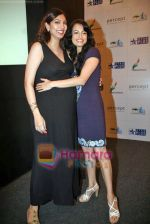 Dia Mirza, Yukta Mookhey at Peace for India concert organised by ITA, Percept and Star Plus in The Club on 23rd Sep 2009 (2).JPG