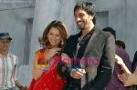 Kim Sharma and  Rahul Handa in the still from movie Marega Salaa.jpg