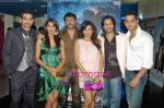 Siddhant Karnick, Sabina Sheema, Bhavna Pani, Akshay Kapoor, Rehan Khan at Fast Forward film premiere  in Fame on 23rd Sep 2009 (4).JPG