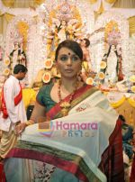 Rani Mukherjee at Durga Puja Festival in Santacruz, Mumbai on 26th Sep 2009 (10).jpg