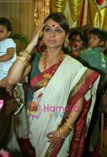 Rani Mukherjee at Durga Puja Festival in Santacruz, Mumbai on 26th Sep 2009 (2).jpg