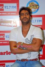 Ajay Devgan at Big Fm studios on 2nd Oct 2009 (2).JPG