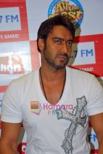 Ajay Devgan at Big Fm studios on 2nd Oct 2009 (3).JPG