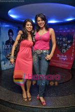 Shweta Keswani, Pooja Bedi at Inglorious bastards movie premiere in Mumbai on 2nd Oct 2009 (2).JPG