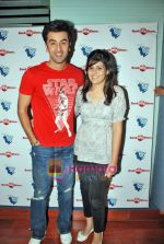 Ranbir Kapoor at Wake Up Sid photo shoot for bookmyshow.com winners in CNN IBN Offic on 3rd Oct 2009 (8).JPG